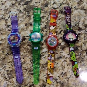 Vintage 90s Rugrats Burger King Watches collector